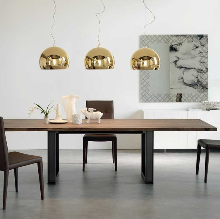 Modern, contemporary, basic wood dining table - Furniture stores Washington
