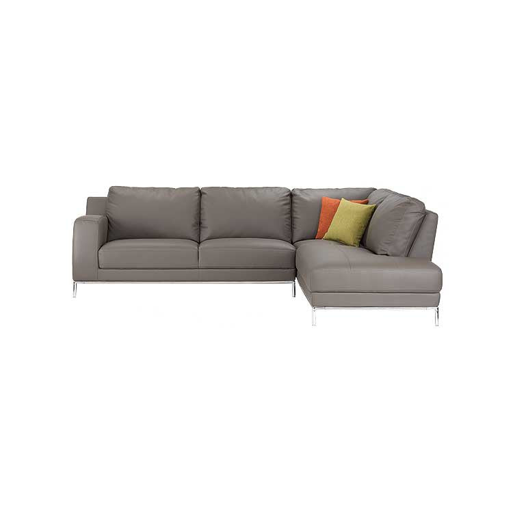 Modern affordable leather sectional - sofa - Modern furniture Seattle