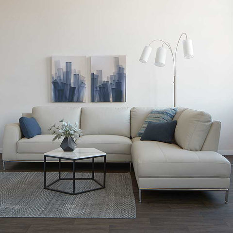 Soho sectional for Bedroom furniture 98188