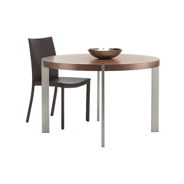 Modern round dining table - Basic dining table - Bellevue modern furniture
