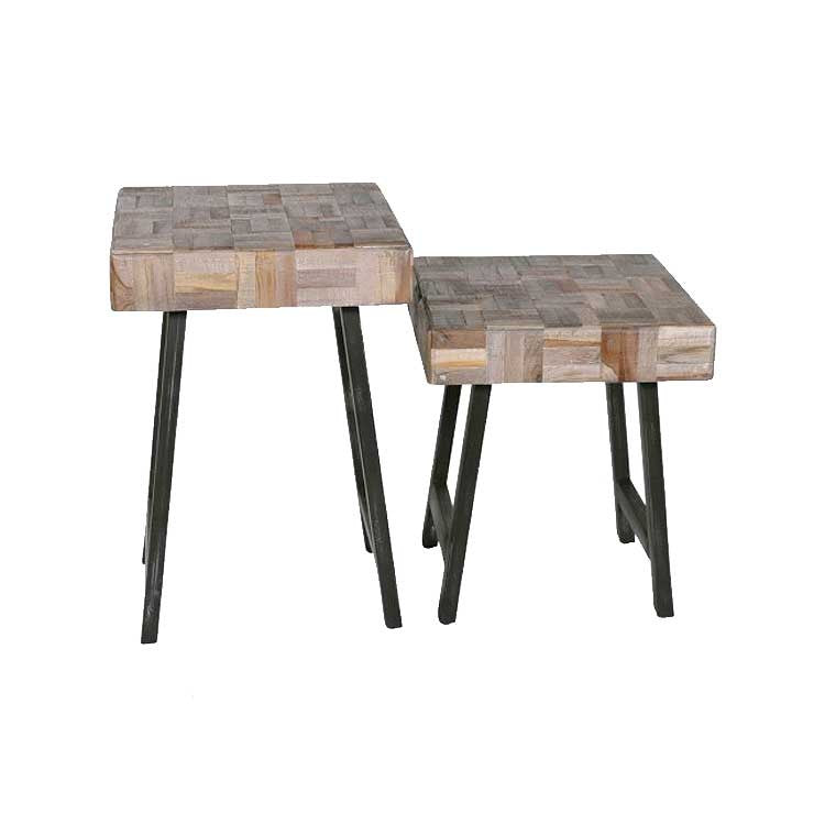 Woodrow Side Tables-Pair