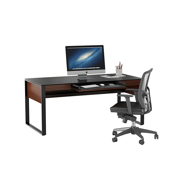Modern home office collection - desk, supply drawers and storage cabinet - Bellevue furniture