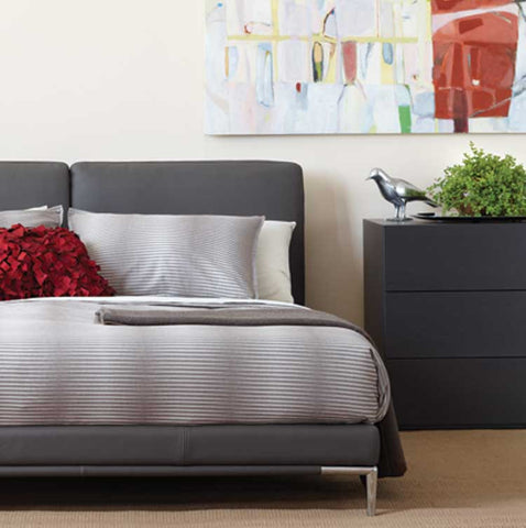 Luna Leather Bed