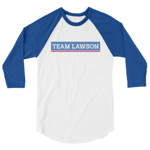 Team Lawson | Raglan 3/4 Sleeve Tee