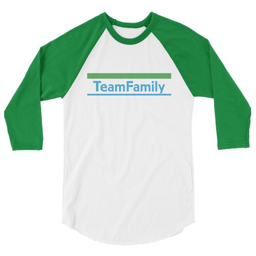 Team Family | Raglan 3/4 Sleeve Tee