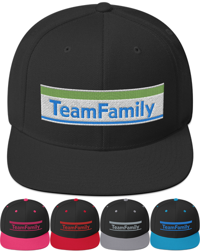 Team Family | Snapback Hat