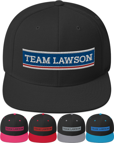 Team Lawson | Snapback Hat