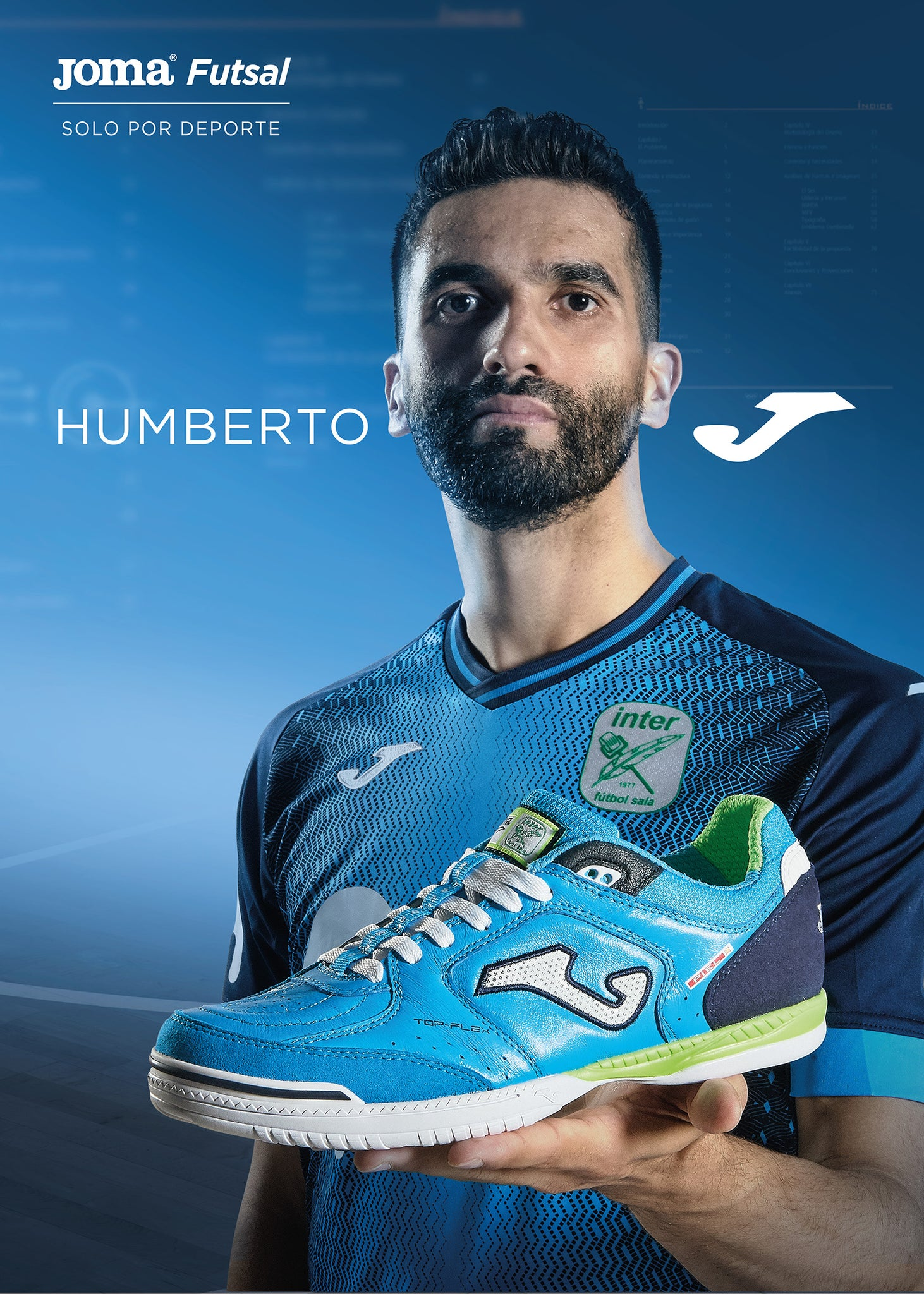 Special Edition Movistar Inter FC Top Flex indoor shoe