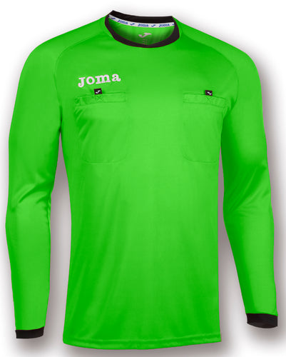 Long-sleeved Referee Jersey - Fluorescent Green
