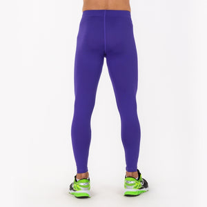 Academy Long Compression Pant - Purple