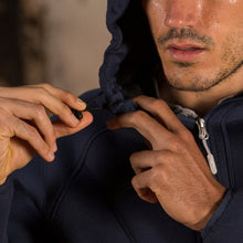 Load image into Gallery viewer, Basilea Softshell Hooded Jacket - Navy
