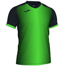 Load image into Gallery viewer, Supernova Jersey S/S - Black/Fluorescent Green