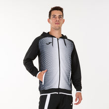 Load image into Gallery viewer, Supernova Hooded Jacket - Black/White