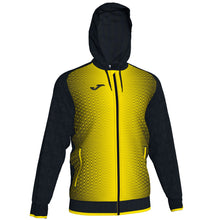 Load image into Gallery viewer, Supernova Hooded Jacket - Black/Yellow