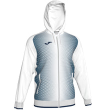 Load image into Gallery viewer, Supernova Hooded Jacket - White/Navy