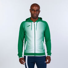 Load image into Gallery viewer, Supernova Hooded Jacket - Green/White