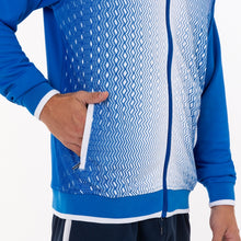 Load image into Gallery viewer, Supernova Hooded Jacket - Royal/White