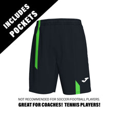 Load image into Gallery viewer, Supernova Short w/ Pockets - Black/Fluorescent Green