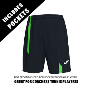 Supernova Short w/ Pockets - Black/Fluorescent Green