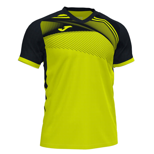 Supernova II Jersey S/S (Unisex) - Fluorescent Yellow/Black