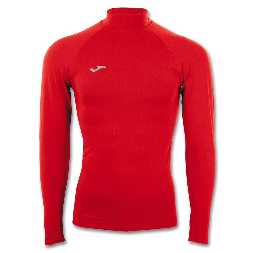 Compression Mockneck Thermal Top L/S - Red