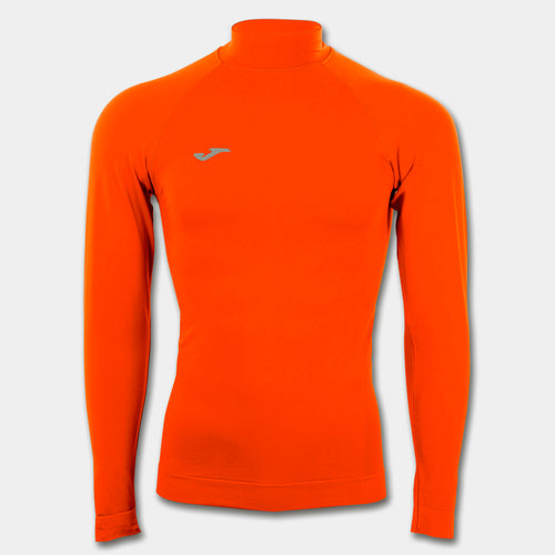 Compression Mockneck Thermal Top/LS - Orange