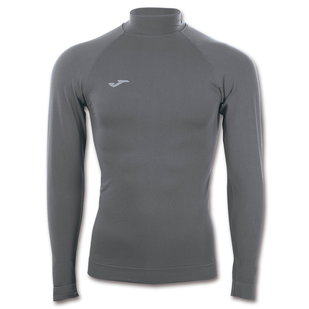 Compression Mockneck Thermal Top L/S - Grey