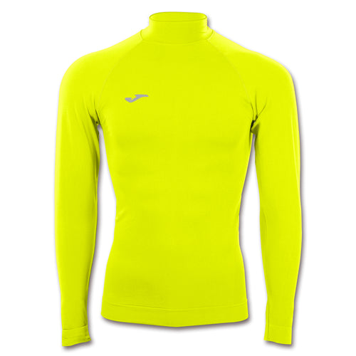 Compression Mockneck Thermal Top L/S - Fluorescent Yellow