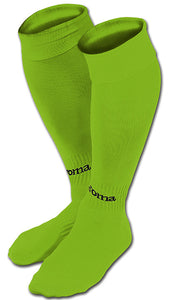 Classic II Football/Soccer Socks (4-Pack) Fluorescent Green