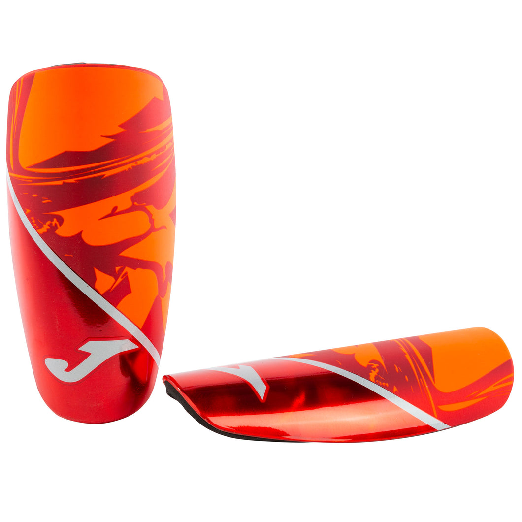 Spartan Shinguards - Red/Black/Silver