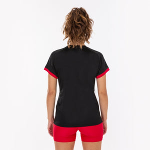 Supernova Women's Jersey S/S - Black/Red