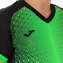 Load image into Gallery viewer, Supernova Women's Jersey S/S - Black/Fluorescent Green