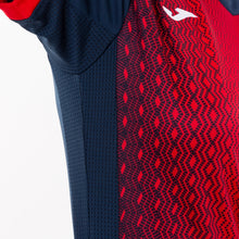 Load image into Gallery viewer, Supernova Women's Jersey S/S - Dark Navy/Red