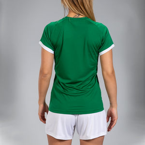 Supernova Women's Jersey S/S - Green/White