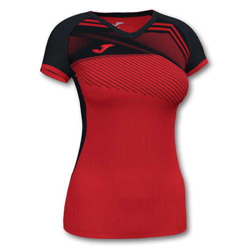 Supernova II Jersey (WOMEN) - Red/Black