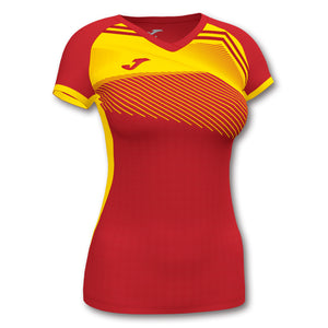 Supernova II Jersey (WOMEN) - Red/Yellow