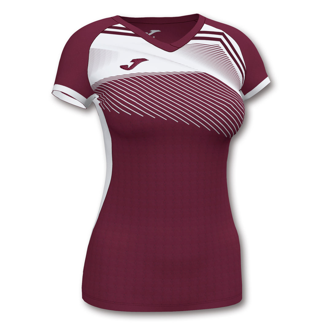 Supernova II Jersey (WOMEN) - Burgandy/White