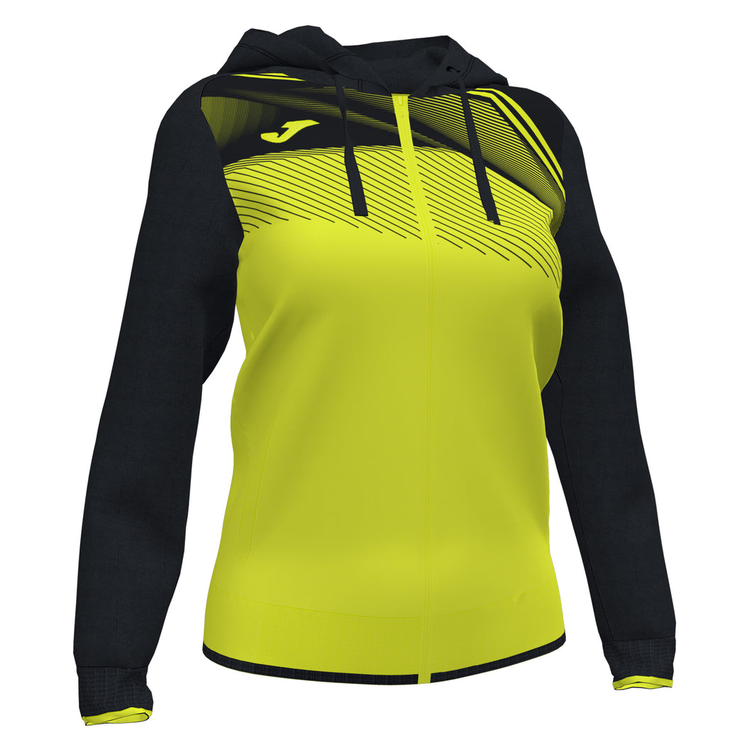 Supernova II Jacket (WOMEN) - Fluorescent Yellow/Black