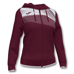 Supernova II Jacket (WOMEN) - Burgandy/White