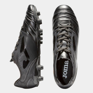 Aguila Gol 821 (Firm Ground) - Black/Black