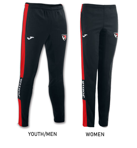 Championship IV Pants (Youth/Men/Women) - Black/Red
