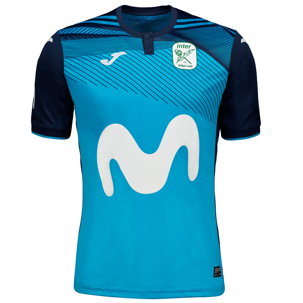 Movistar Inter F.C. Home Jersey (2019-20) - Turquoise