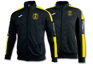 Kensington SC Championship IV Full-zip Jacket - Black/Yellow