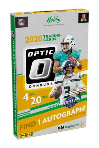 2020 Donruss Optic Football Cards - Hobby Box