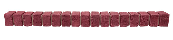 Deep Red Brick Ledger