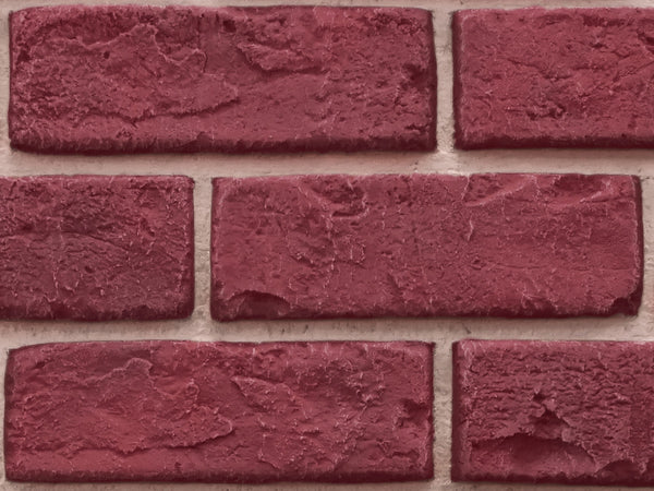 Deep Red Brick Sample
