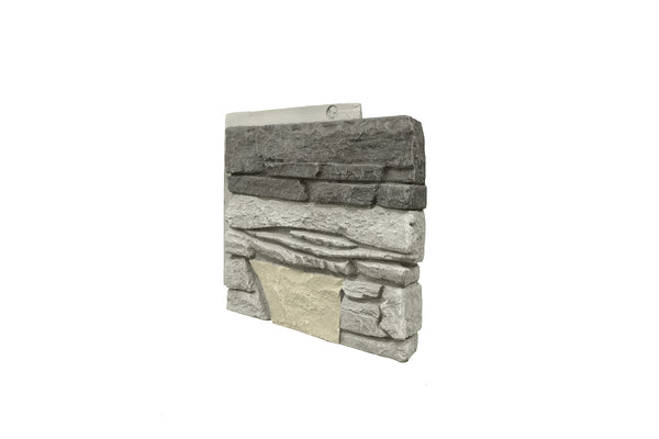 "Northern Slate Corner 12"" Panel Right"