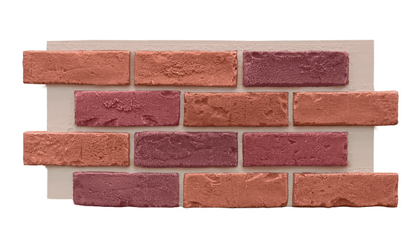 Multi Color Brick Half Panel