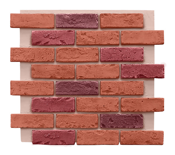 Multi Color Brick Panel