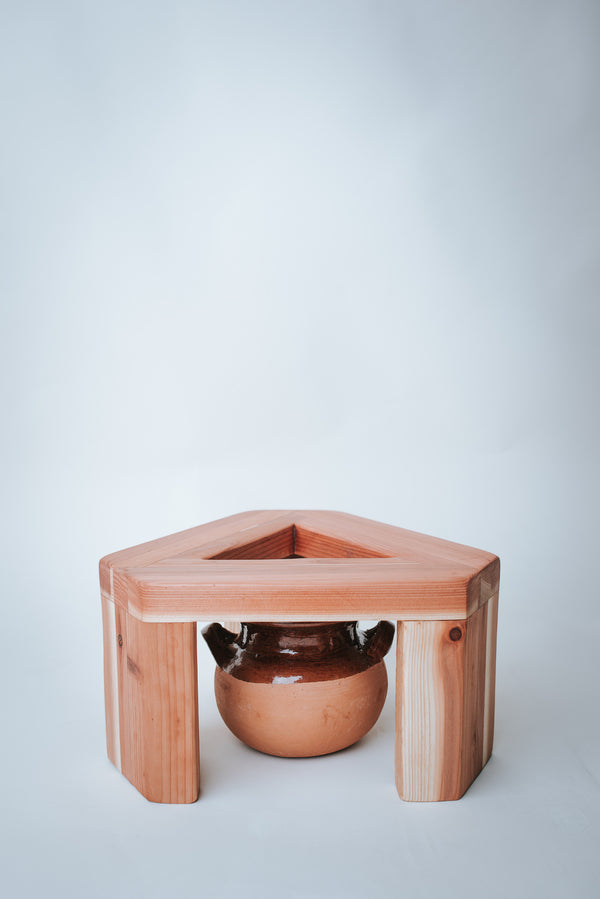 Ritual Steam Stool